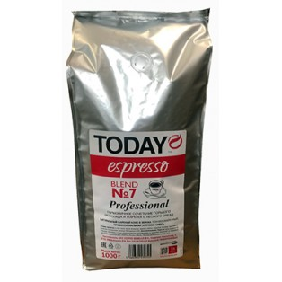Кофе зерновой Today Espresso Blend №7