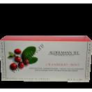 Aldermann Cranberry- Mint  Альдерман чай